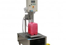 Weigh Filling Machine for chemicals on Wheels- GS-20W