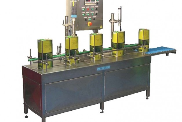 Automatic Weigh Filling and Capping Machine GSA-St