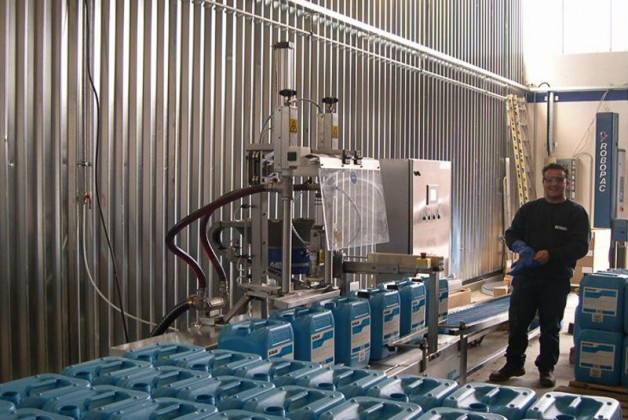 Automatic Filling Line 1 Chemical